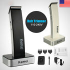 TOP Rechargeable Man Cordless Electric Hair Clipper Trimmer Beard Shaver Razor