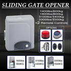 sliding gate roller - Sliding Gate Opener Electric Operator w.Remote Control Automatic Roller 1400lbs.