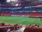 4 Lower Sideline Tickets Atlanta Falcons vs Arizona Cardinals 12/16