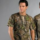 CAMOUFLAGE REALTREE T-SHIRT S-5XL  MILITARY ARMY COMBAT WOODLAND TOP QUALITY