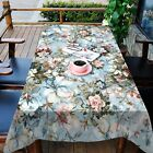 3D Retro Flower 531 Tablecloth Table Cover Cloth Birthday Party Event AJ WALL CA
