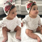Внешний вид - Lace Newborn Baby Girl Infant Romper Bodysuit Jumpsuit Clothes Outfits Sunsuit