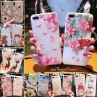 Cartoon Pattern Soft Phone Case For Samsung Galaxy Note9 S9 S8+ iPhone 5/6/7/8/X