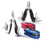Outdoor Portable Multifunction Foldable Pliers Knife Screwdriver Emergency Tool