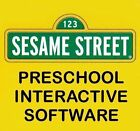 Age 3-5 Sesame Street Preschool Interactive Software PC Windows XP 7 8 10