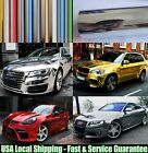 Quick - Super Real Mirror Car Glossy Flat Chrome Vinyl Wrap Film Sticker Pt Abus
