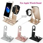 2 in 1 Smart Charging Dock Stand Station Charger Holder For Apple iWatch iPhone
