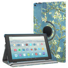 MoKo Case for All-New Amazon Fire HD 10 Tab 7th 360 Degree Rotating Stand Cover