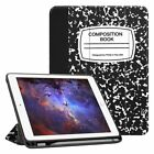 For iPad 9.7'' 6th Gen 2018 / 5th Gen 2017 Case Cover with Apple Pencil Holder