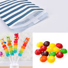 25x Candy Stripe Paper Bags Sweet Favour Buffet Shop Party Sweets Cake Wedding