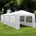 Gazebo Party Tent Marquee Garden Outdoor Waterproof Standard or Pop Up White