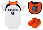 Adidas NBA Newborn Charlotte Bobcats Bib and Bootie Set, White
