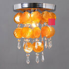 Colorful Shell Crystal Chandelier Ceiling Fixtured Lighting Pendant Lamp Light