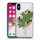 OFFICIAL MONSTER HUNTER WORLD SILHOUETTES HARD BACK CASE FOR APPLE iPHONE PHONES