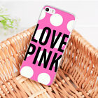 Love pink girly pretty Design Soft Case for iPhone 8 7 6 6S Plus X 5 5S SE