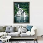 3d Waterfall Lake 65 Fake Framed Poster Home Decor Print Painting Unique Art