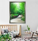 3d Forest Aisles 5 Fake Framed Poster Home Decor Print Painting Unique Art