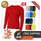 Kyпить A4 Men's Moisture Wicking  Tech Long Sleeve Resistant T-Shirt. N3165 UPF 44+ UV  на еВаy.соm