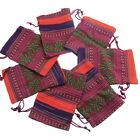US 20X Drawstring Jewelry Beads Gifts Package Bags Wedding Candies Bags Tribal