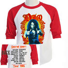 """DIO Sacred Heart,""""1985 World TOUR Baseball T-Shirt, Size S-3XL T-429Red L@@K image"""