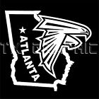 ATLANTA FALCONS  STICKER THE STATE OF GEORGIA VINYL DECAL WINDOW LAPTOP WALL on eBay