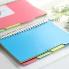 page divider template - A5 A6 Inner Page Organizer Notebook Index Paper Separator 6 Holes Divider Pages