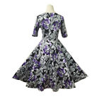 New Old Fashion Ladies 50s Vintage SWING Dress Cocktail Party Swing Sweetheart