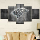 Canvas Wall Art Prints Winter Is Coming Painting Frame Modern Pictures 5 Panels