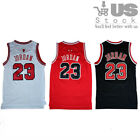 #23 Michael Jordan Basketball Jersey Throwback Chicago Bulls Swingman Embroidery