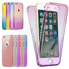 Case For Apple Iphone 6 7 8 5s Plus Xs Cover 360 Luxury Thin Shockproof Hybrid