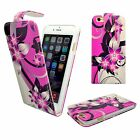 CASE FOR APPLE IPHONE 6 6S PINK CREAM FLOWER PU LEATHER FLIP POUCH PHONE COVER