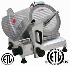 "NEW Commercial Deli Meat Slicer 8"" / 10"" / 12"" Blade NSF & ETL Approved <br/> Model HBS-195 / HBS-250 / HBS-300 NSF & ETL Approved"