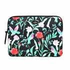 New Kate Spade Hummingbird Floral New York Wilson Laptop Sleeve Tech Accessory