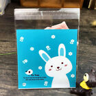 100 Pcs Biscuit bag Self Adhesive Cookie Candy Package Bags Cartoon Cellophane
