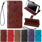 Floral PU Leather Rugged Folio Wallet Card Strap Case Cover For iPhone 8/ 8 Plus