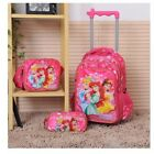 Trolley Bags For Children Wheels Rolling Backpacks Woman Travel luggage Backpacks