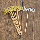 10pcs I DO Letters Paper Cupcake Cake Toppers Wedding Party