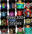 Внешний вид - SA Face Mask Shield EDM Rave Mask SPF40 Tubular Bandana - CHOOSE ONE STYLE  SALE