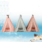 Portable Folding Dog Pet House Bed Tent Cat Indoor Outdoor Playpen Teepee New