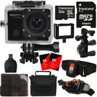 Vivitar 16MP Ultra HD 1440p 4K Wifi Waterproof Sport and Action DV Camcorder