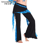 1Pc Tribal Belly Dance Lace Trousers For Women Belly Dancing Practice Pants