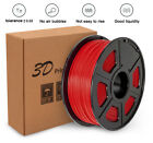 Premium 3D Printer Filament 1kg/2.2lb 1.75mm PLA ABS PETG TPU Wood Maker Bot