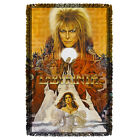 Labyrinth Movie Poster CRYSTAL BALL Woven Throw Blanket