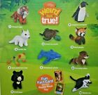 2018 McDonald's National Geographic Plush Happy Meal Toys Pick Your Favorite