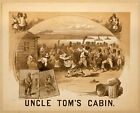 Photo Print Vintage Poster: Stage Theatre Flyer Uncle Toms Cabin 01