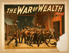 Photo Print Vintage Poster: Stage Theatre Flyer War Of Wealth A08