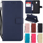 For Samsung Galaxy J3 J5 J7 2017 Magnetic Leather Wallet Flip Stand Case Cover