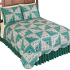 Sutton Floral Reversible Patchwork Quilt, by Collections Etc image
