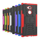 For Sony XA2 Ultra/L2/XZ1 Hybrid Rubber Armor Rugged Stand Back Phone Case Cover