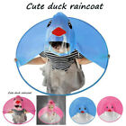 Внешний вид - 1PC Unisex Baby Kids Cartoon Cute UFO Umbrella Hat Magical Hands Free Raincoat